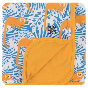 Kickee Pants Print Stroller Blanket (Tamarin Monkey)