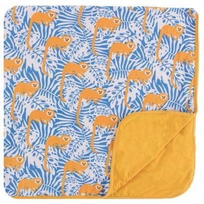 Kickee Pants Print Toddler Blanket (Tamarin Monkey)