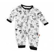 Magnificent Baby Animal Safari Modal Magnetic Coverall