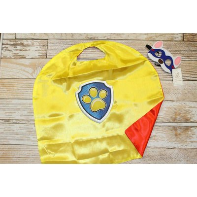 Lincoln&Lexi Superhero Cape & Mask Set- Paw Patrol