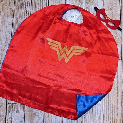 Superhero Cape & Masks- Wonder Woman