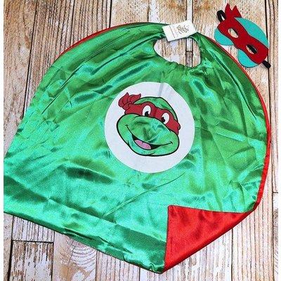 Superhero Cape & Masks-TMNT-Red