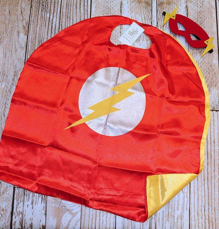 Superhero Cape Amp Masks Flash Lincoln Amp Lexi