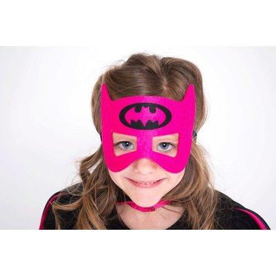 Lincoln&Lexi Superhero Cape & Masks-Batgirl
