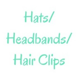 Hats/Headbands/Hair Clips
