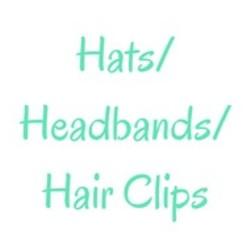 Hats/Headbands/Hair Clips