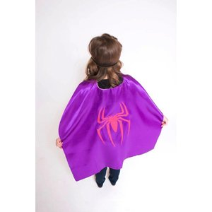 Lincoln&Lexi Superhero Cape-Spider Girl