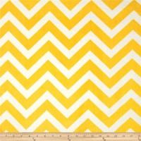 Lincoln&Lexi Yellow/White Chevron Cuddle
