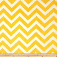 Yellow/White Chevron Cuddle