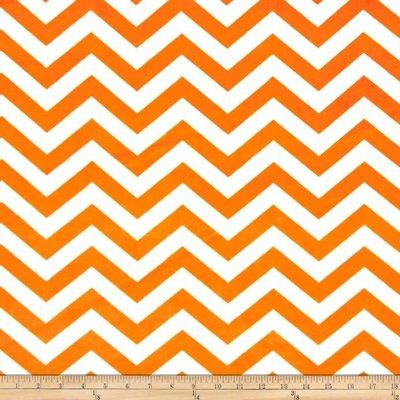 Orange/White Chevron Cuddle
