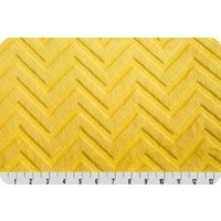 Lincoln&Lexi Solid Yellow Chevron Cuddle