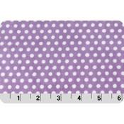 Lilac Swiss Dot Cuddle