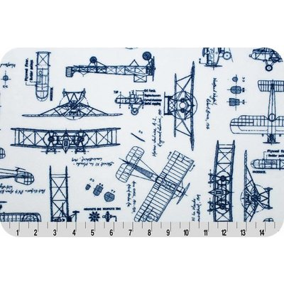 Lincoln&Lexi RKC Aeroplanes Cuddle® Navy