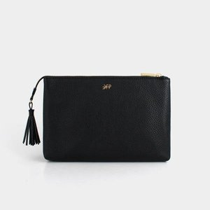 Freshly Picked Ebony Zip Pouch