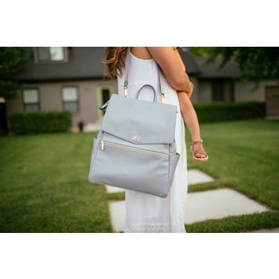 Freshly Picked Stone Diaper Bag
