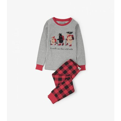 Hatley Walk on the Wild Side Kids' Pajama Set