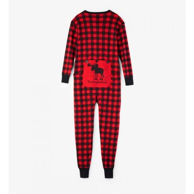 Hatley Buffalo Plaid Union Suit