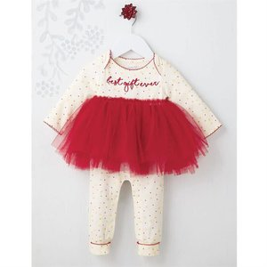 Mud Pie Best Gift Ever Tutu One-Piece