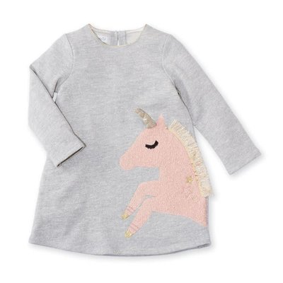 Mud Pie Sparkle Unicorn Dress
