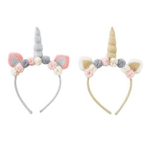 Mud Pie Plush Unicorn Headbands