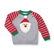 Mud Pie Stripe Santa Sweater