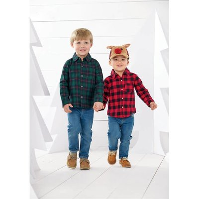 Mud Pie Alpine Village Button-Down Shirts