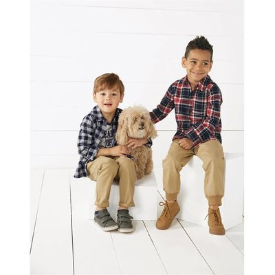 Mud Pie Flannel Button-Downs