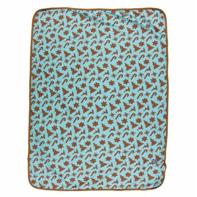 Kickee Pants Holiday Swaddling Blanket (Christmas Cookies - One Size)