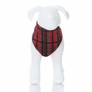 Kickee Pants Print Dog Bandana (Christmas Plaid)