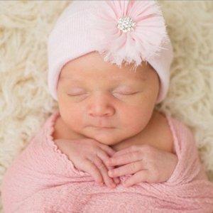 iLYBEAN Pink Hat Pink Fairy Flower