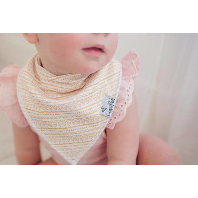 Copper Pearl baby bandana bibs - june