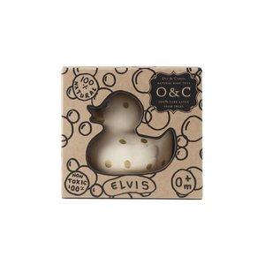 Oli & Carol Small Ducks Dots - Gold