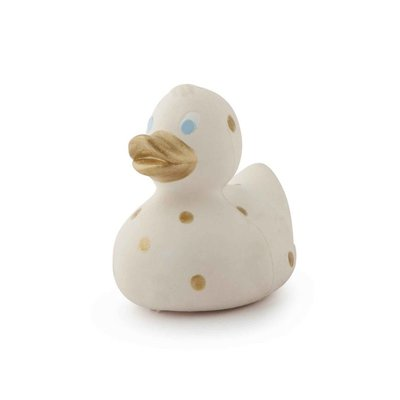 Small Ducks Dots - Gold