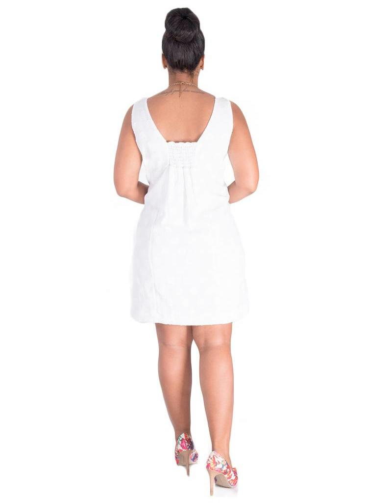 Pappagallo KALLIE-Textured Dress with Bow