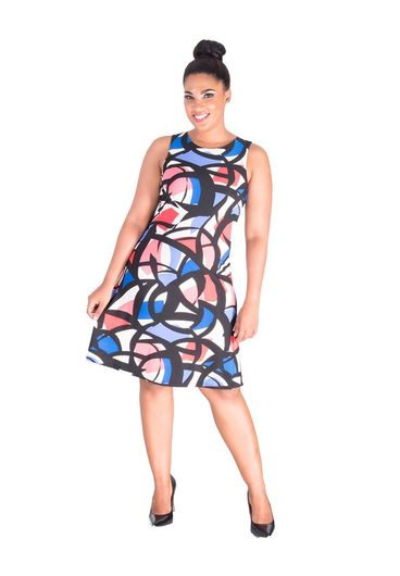 Nine West IVETA-Printed Sheath Dress