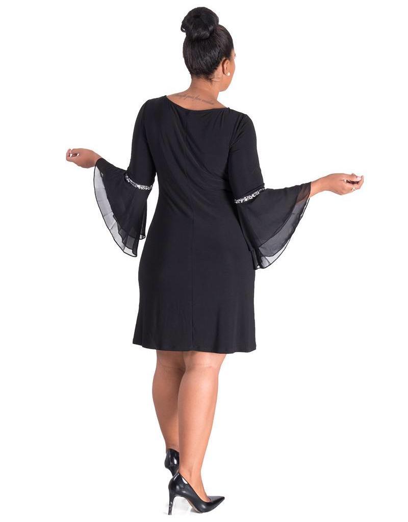 FINLAY- Three Quarter Sleeves Dress
