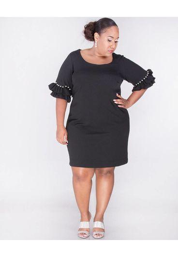 Signature RIALTA- Plus Size  Short Sleeve  Dress