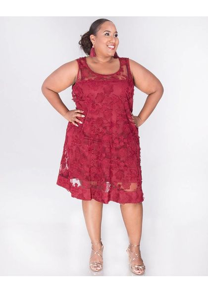 Signature MADRONA - Floral Overlay Dress