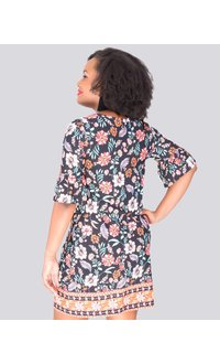 Laundry by Shelli Segal ISABEAU- Floral shift dress