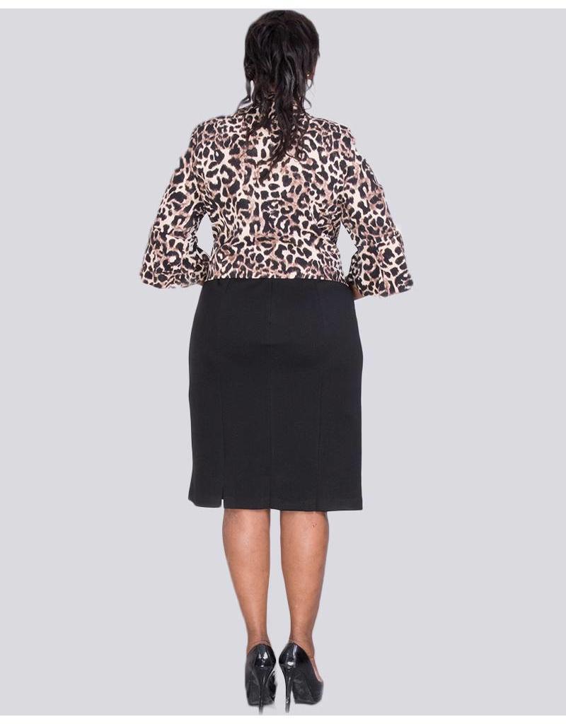BEBE - 3/4 Sleeve Jacket and Sleeveless Dress