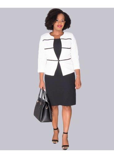 RONA - 3/4 Sleeve Jacket and Dress