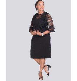 BAHIA-Dress with Lace jacket