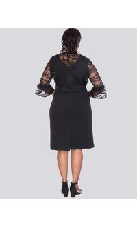 BAHIA-Dress with Lace jacket