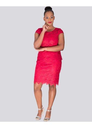 LADA - Lace Pop Over Dress