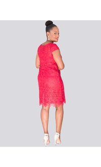 LADA - Lace Pop Over Dress