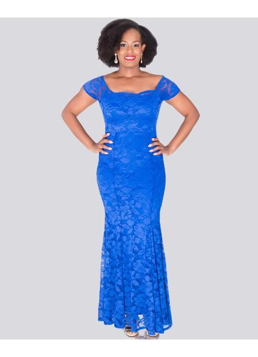 Carolina LAKSHMI - Petite Off the Shoulder Gown