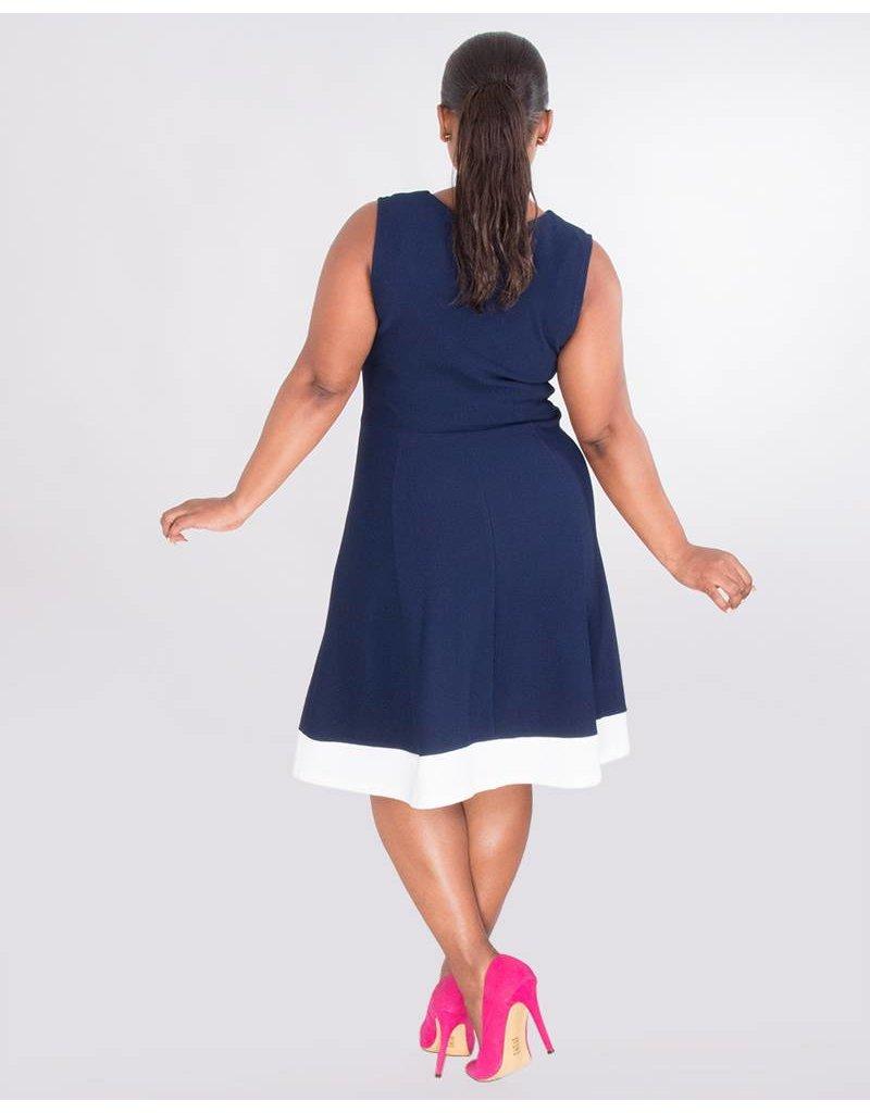 0357aeb9c4 Blair- SIG V-nk dress flrl puff prnt jkt - Harmonygirl.com
