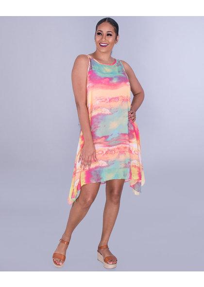 Signature FELWA- Blended Chiffon Overlay Dress