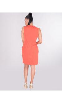 Jessica Howard RESHELL- Collared Coat Style Dress