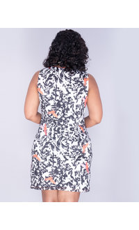 Aryeh YATRI - Sleeveless Printed Dress